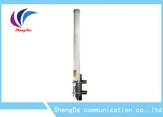 High Gain Power Fiberglass Omni Antena, Omni Wifi Antena Luar 6dBi Base Staion
