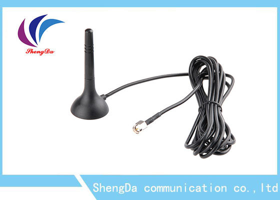 Cina Mini Omni Directional GSM CDMA Antenna High Gain 3dBi Dengan Base Magnetic pabrik
