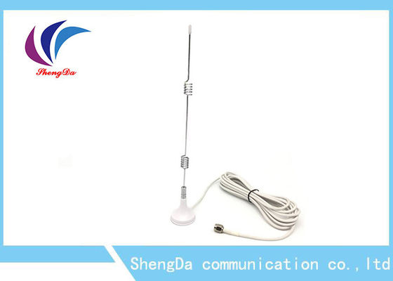 Cina Magnetic MIMO Omnidirectional Antenna High Gain 7dBi RG174 3m Kabel Warna Putih pabrik