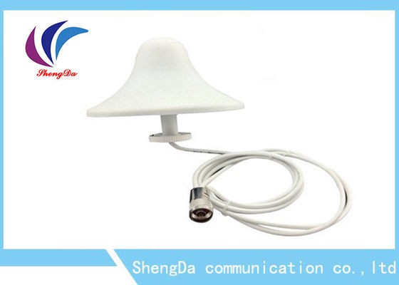 GSM Indoor Dome Ceiling Antena, Omni Directional Ceiling Antenna 3dBi Signal Booster