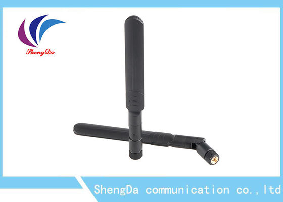 Dual Band Rubber Duck Antena SMA Male Connector 2400-2500 / 5150-5850MHz