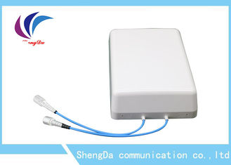 Cina 4G High Gain DAS Wifi Panel Antenna Low PIM 8dBi Dual Slant 2 × 2 MIMO Indoor pabrik