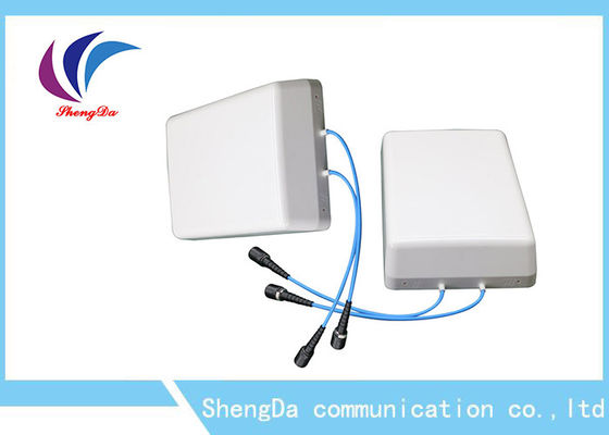 Cina Cakupan Indoor Wifi Flat Panel Directional Antenna, Directional Patch Antenna Wall Mount pabrik