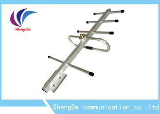 Cina Gain Tinggi 8dBi Yagi Directional Antenna, Yagi Long Range Wireless Antenna F Female Connector pabrik