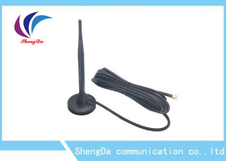 Cina Omni Directional 433MHZ High Gain Antenna / Sucker Antenna dengan Magetic Base pabrik