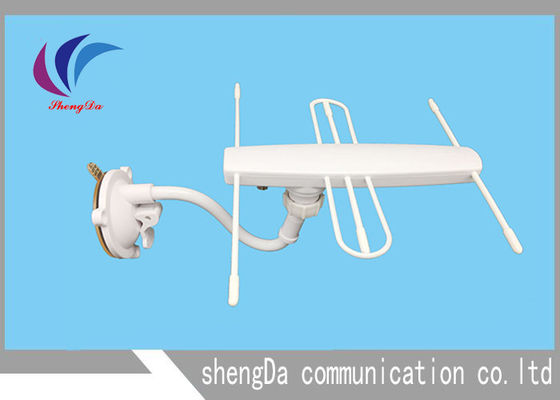 UHF VHF digital TV Antenna High Gain 30dBi DVB-T T2 Yagi Tipe Dengan Ampliifer